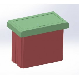 جعبه تابلویی- PanelMountingEnclosures 72 * 48 mm