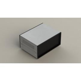 جعبه فلزی با پانل پلاستیکیW:150*H:70- Sheet Metal Junction Box- İron Housing ABS Plastic Panels
