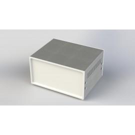 جعبه فلزی با پانل پلاستیکی W:180*H:100-Sheet Metal Junction Box- İron Housing ABS Plastic Panels