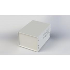 جعبه فلزی با پانل پلاستیکیW:150*H:110-Sheet Metal Junction Box- İron Housing ABS Plastic Panels