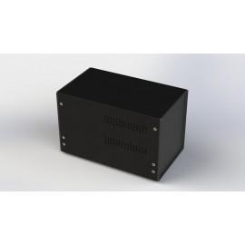 جعبه فلزی با پانل پلاستیکی W:160*H:150-Sheet Metal Junction Box- İron Housing ABS Plastic Panels