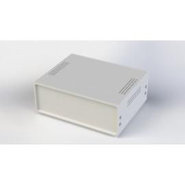 جعبه فلزی با پانل پلاستیکی W:220*H:80-Sheet Metal Junction Box- İron Housing ABS Plastic Panels