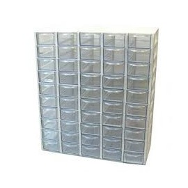 جعبه قطعات کریستالی 35 کشویی