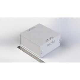 جعبه فلزی با پانل پلاستیکی W:220*H:100-Sheet Metal Junction Box- İron Housing ABS Plastic Panels