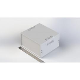 جعبه فلزی با پانل پلاستیکی W:210*H:115-Sheet Metal Junction Box- İron Housing ABS Plastic Panels