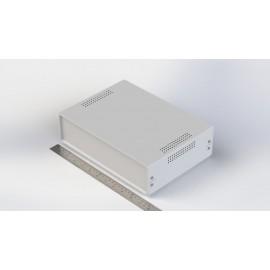 W:280*H:75 جعبه فلزی با پانل پلاستیکی Sheet Metal Junction Box- İron Housing ABS Plastic Panels