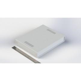 W:260*H:40 - جعبه فلزی با پانل پلاستیکی Sheet Metal Junction Box- İron Housing ABS Plastic Panels