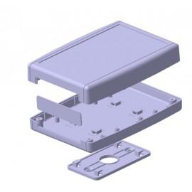 جعبه پلاستیکی 4 تکه دیواری سالار -152*108*36 mm(Wall-Mount)