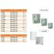 تابلوهای ضد آب درب شیشه ای با استاندارد IP65 Watertight Boards With Din Rail Fixing