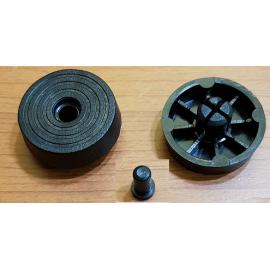 پایه پلاستیکی پین دار بزرگ با قطر 30 mm