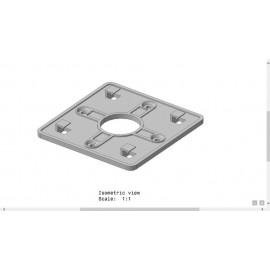 نگهدارنده پلاستیکی برای جعبه های دیواری-بزرگElectronic Wall-Mount Box Hanger