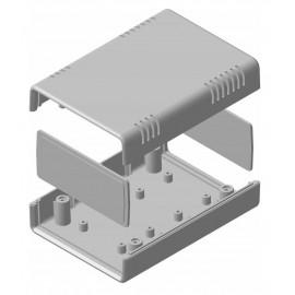 جعبه پلاستیکی چهار تکه عقیق - L135*W90*H45.6 mm _طرح جدید
