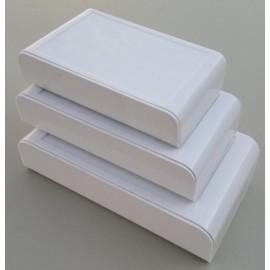 جعبه پلاستیکی دو تکه ثمین متوسط L9/5*W5*H2mm