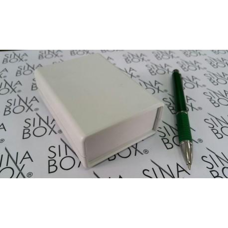 جعبه پلاستیکی چهار تکه عقیق - L105*W75*H36.5 mm