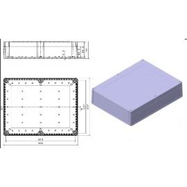 جعبه پلاستیکی ضد آب یامور -طرح جدید در 2 سایز (Watherproof Box)