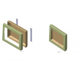 قاب محافظ یا کیوسک های اطلاع رسانی روکار دیواری INFORMATION KIOSK
