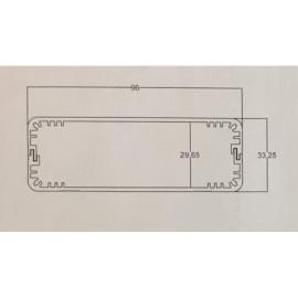 جعبه آلومینیومی-96*33 mm طرح جدید