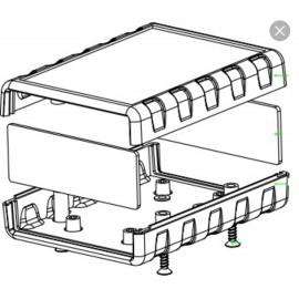 جعبه پلاستیکی رومیزی چهار تکه L105_W75_H36