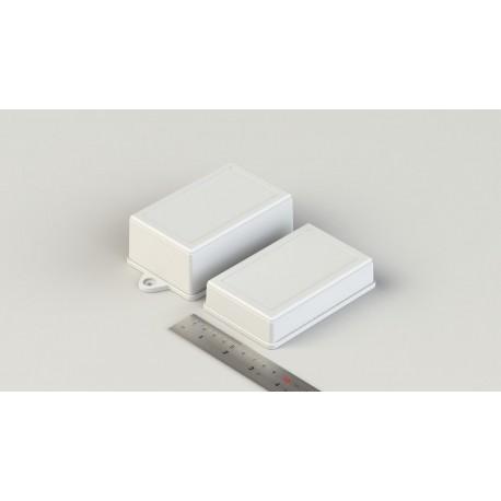 جعبه پلاستیکی ساده و گوشواره دار- سایز دوم ابعاد: L85_W55_H35